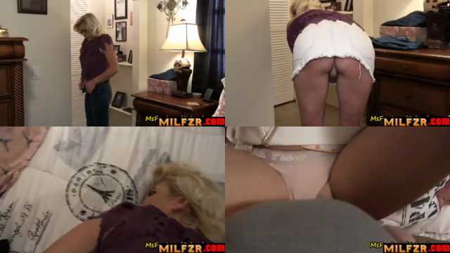 Mommy Goes Out With A Creampie