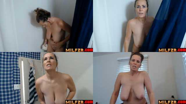 Dirty Mommy Gets Pissed When You Spy On Her In The Shower