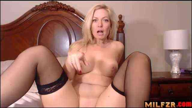 Blackmailing Your Step Mom Into Fucking You
