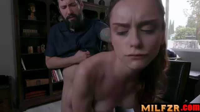 Lily Glee Disciplined Stepdaughter Dick Down